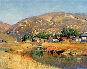 """""""Old Laguna,"""" Joseph Kleitsch, circa 1923-24"""